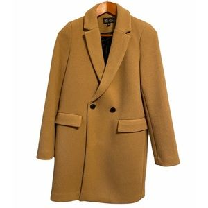 Zara trf collection Wool Blend Coat